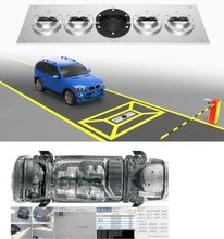 High safety anti-terrorism UVSS under vehicle surveillance scanning inspection system