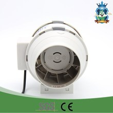 portable exhaust duct fan for kitchen ventilation system