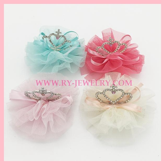 Hot sales style Kids crown hair clip HAIRGRIPS