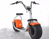 2017 small citycoco / seev / woqu 2 wheel motor wheel electric scooter with bluetooth/anti-theft/front and rear suspension