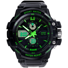 china suppliers Skmei Digital Outdoors Sports watch Waterproof Military men watch