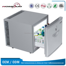 21L No noise drawer mini refrigerator for hospital/hotel