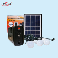 5W small solar power system, portable solar lighting kit,solar generator kit with 3w LDE light