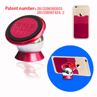 Small size 360 degree rotation strong magnetic mobile phone holder
