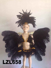 Carnival Feather Backpieces And Angel Wings LZL658