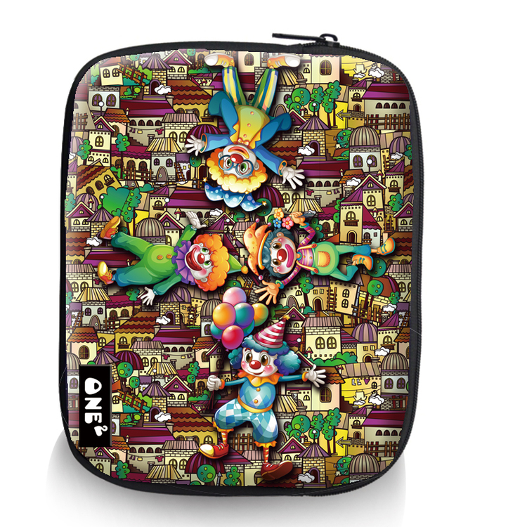 Fancy printed high quality promotion sleeve 15 inch laptop bag
