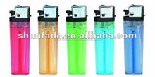 disposable plastic flint gas lighter