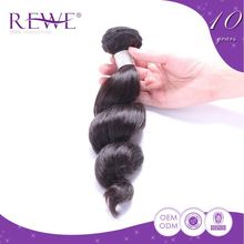 Clearance Price Attractive And Durable Wavy Saga Human Bulks Braid Remy Hair Grey