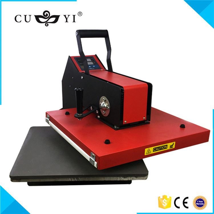 Factory Sale good quality manual heat press machine with different size