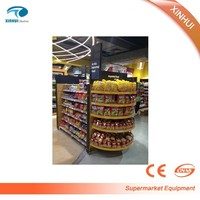 store mall usa gondola light duty display supermarket shelves