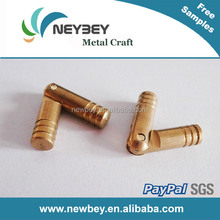 Wooden box brass Invisible Hinge in cylinder shape BI1101
