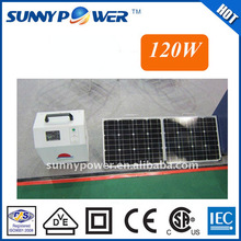 OEM protable solar panel generator solar energy system for outdoor living activity