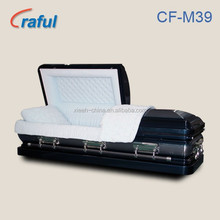 Best price steel metal funeral caskets coffins CF-M39