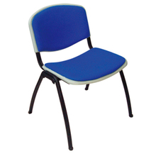 Best quality general use four leg plastic school chair with writing board