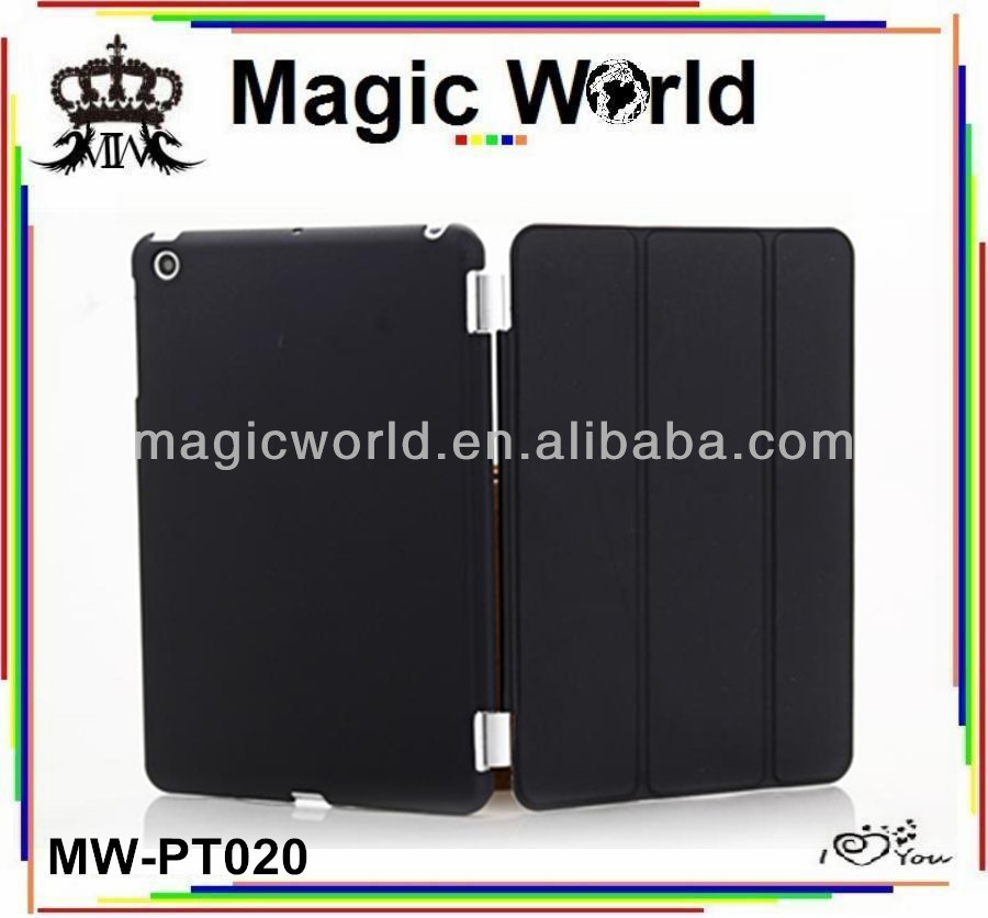 cheap price for ipad mini leather case ,handmade case for ipad