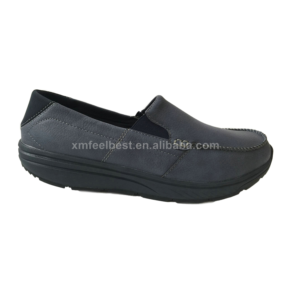 Women Black Athletic Toning Tennis shoes