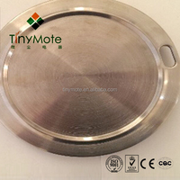 custom made casting circular aluminum hot plate for coffee maker