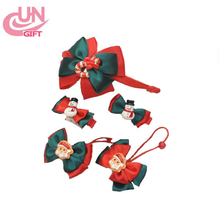 Santa Suit Children Christmas Baby HairBands Collocation Headdress Ornaments Selling Wholesale