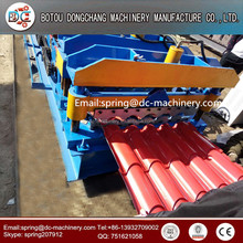 Hot sale! glazed tile roll forming machine, corrugated roof and floor board making machine for sale