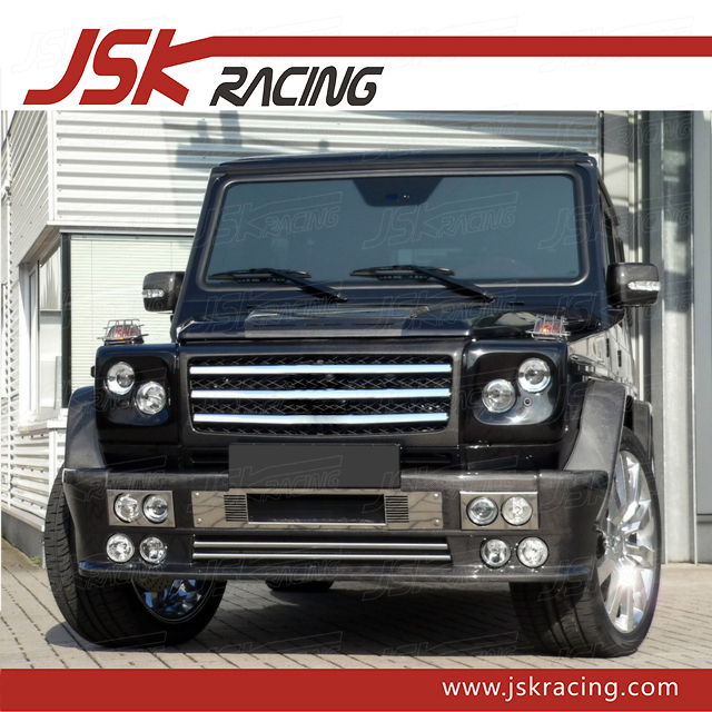 CARBON FIBER FRONT LIP FOR MERCEDES BENZ G-CLASS G55(JSK060802)
