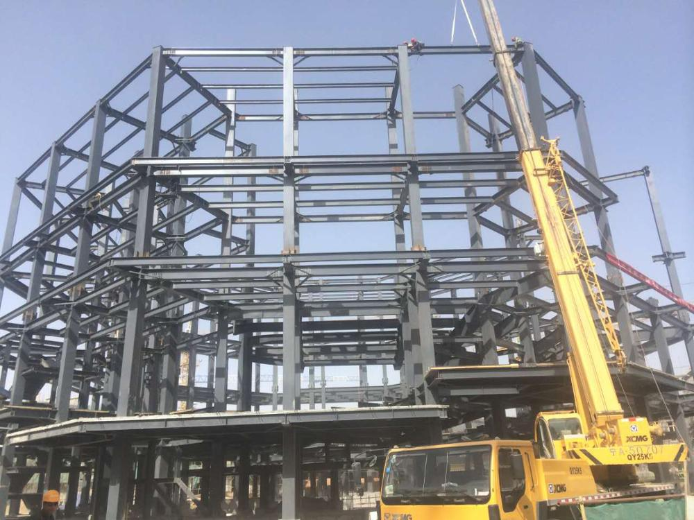 Coshare 2 Years No Complain Super Wind Resistant steel beam frame part steel structure