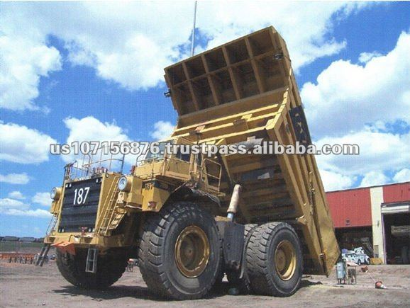 Off Road Used High Quality Dump Trucks