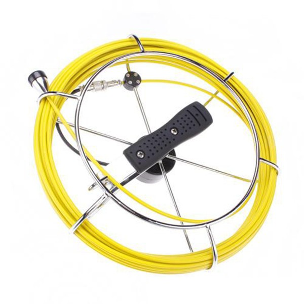 "20m cable Pipe Wall Sewer Inspection Camera System,7"" video endoscope camera system"