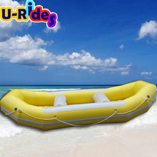 summer hot water sport games inflatable boats for sale
