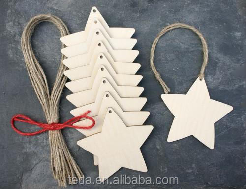 Wooden Star & Snowflake Shapes, Lazercut, Craft, Christmas, Wedding