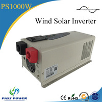 12v 24v dc pure sine wave 1000w wind solar inverter off grid