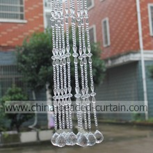 Clear RainDrop Acrylic Beaded Curtains for Home Doorway Decoration