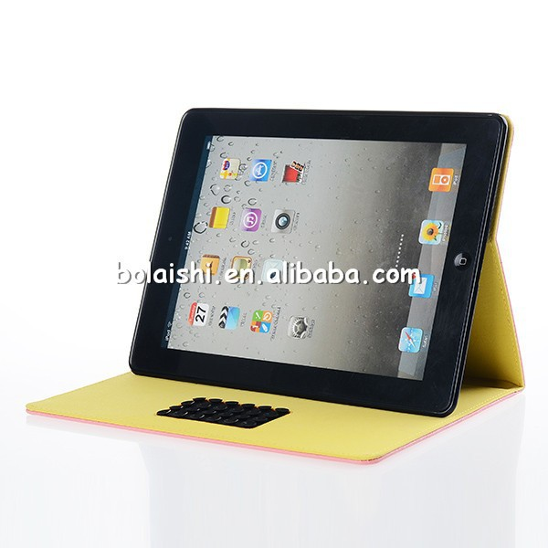 2014 new colorful beautiful design for iPad Case Modern Protective Multi-Use Flip Stand Leather Cover for ipad protective case