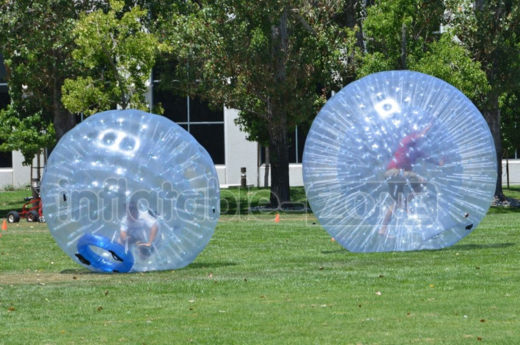 Adults Grass Inflatable Rolling Zorb Balls