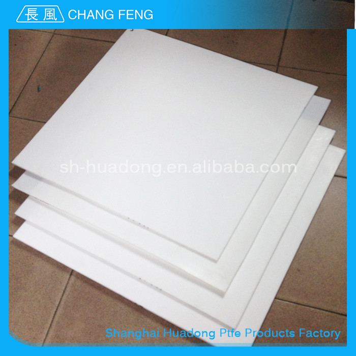 Anti-adhesion material and insulation material moulded 100% Pure teflon sheet