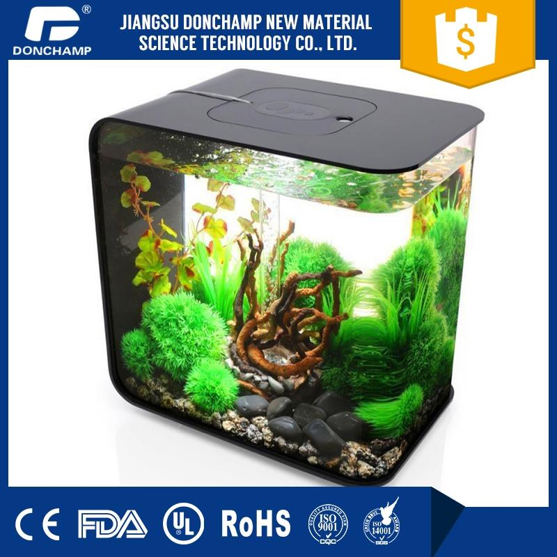 New design aquarium decoration fish aquarium shark tank with high quality