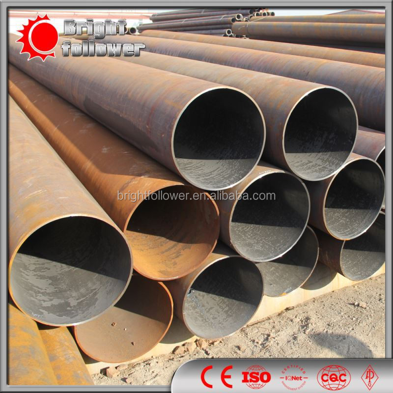 seamless carbon steel pipe GR.B Q345 ASTM A106 API 5L 5CT DIN GI PE