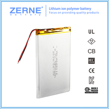 3.7v rechargeable 6000mah li-ion battery for Tablet PC / MID / PDA