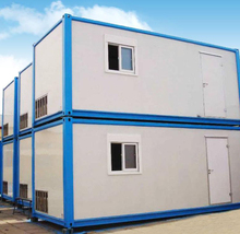 Fast construction best price economical modular prefab container homes