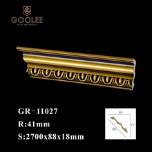 Goolee Easy Install Waterproof Decorative Polyurethane Crown Moulding
