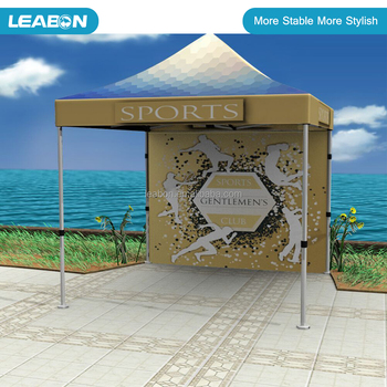 Foldable advertise event gazebo tent 3x3 business tent market tent for sales