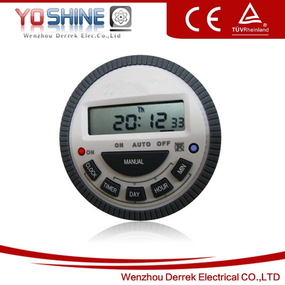 Multi Purpose Programmable Digital Timer Frontier Brand Model TM619H2 220V AC