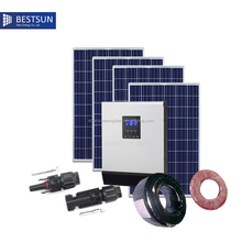 China Direct Sell Solar Home power energy 4000w system, BestSun Solar Kits for home BPS-4000M