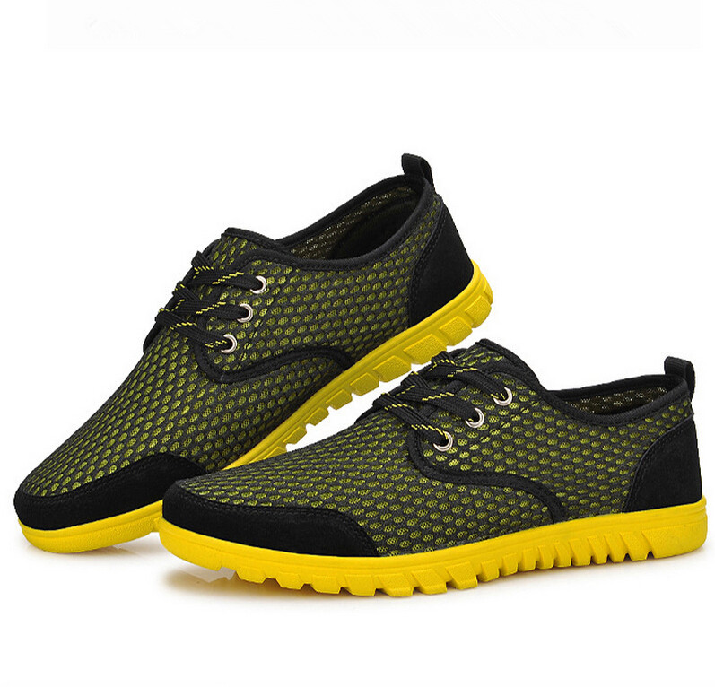 62436c5618278 Buy Summer mens outdoor shoes Leather breathable mesh cloth hiking shoes  trend fashion leisure shoes hollow rubber sport shoes in Cheap Price on  Alibaba.com