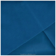 3 Layer lamination elastic softshell fabric elastic Fabric+TPU+ polar fleece fabric