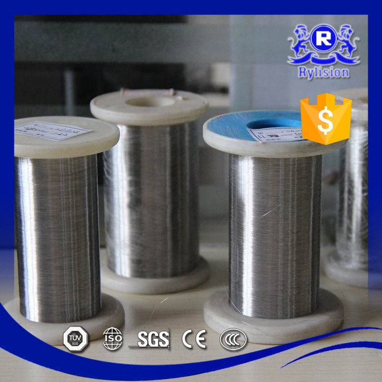 Jiangsu factory cheap price 0.3mm 0.025mm 0.04mm 316l stainless steel wire in spool