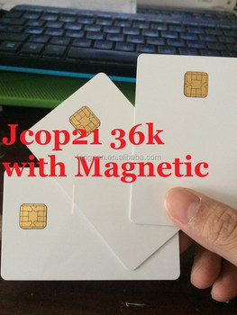 for JCOP 2.3.1 Jcop21 36k 3 track 12.7mm or 2 track 8.4mm for Jcop card 21 36k Magnetic card with original chips