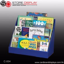 Playing cards Counter display unit Corrugated display stand Book Counter Display