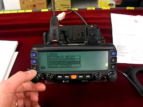 FTM-350AR 50watts FM dual band mobile transceiver two way radio