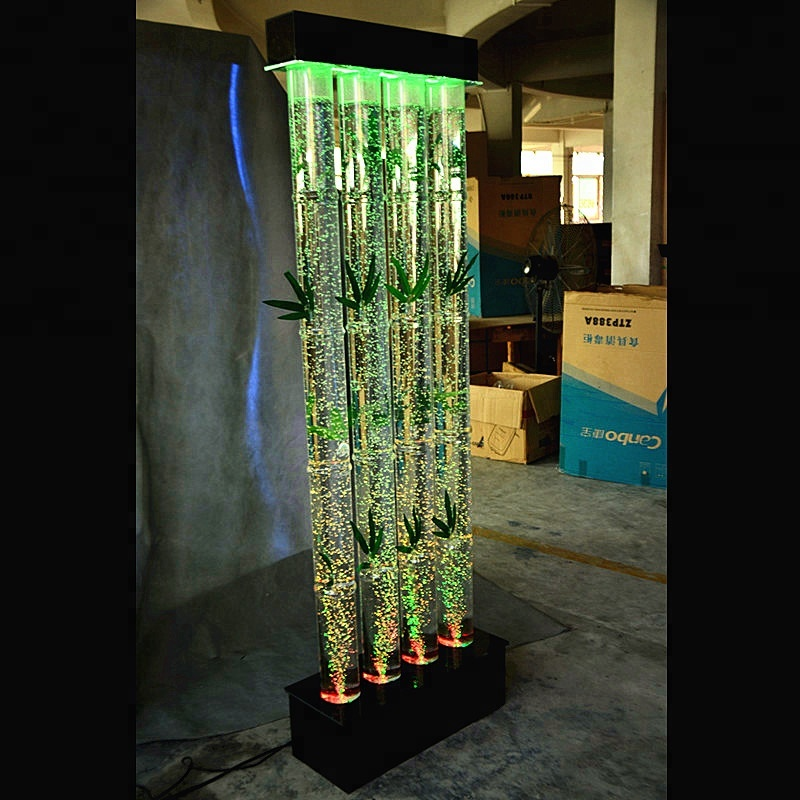 decorative water bubble columns room divider luxury office furniture