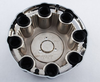 Custom alloy Wheel rim hubcaps center cup caps for 8 LUG Silverado